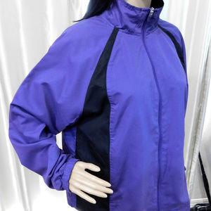 Purple & Black Wind Jacket